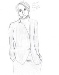 Sketch- Elizabeth Holmes by Norbez