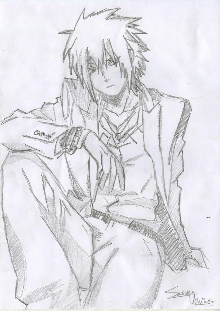 Sasuke Uchiha Scan by RizaFlameMustang