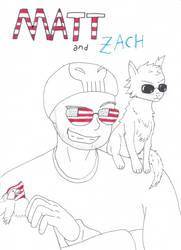 Matt and zatch by Drawer-sama