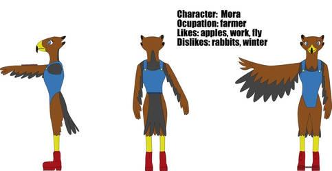 Mora - OC Desing page by Drawer-sama
