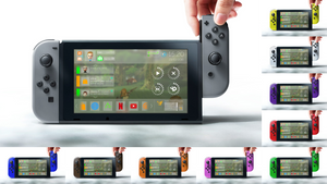 Nintendo Switch + nxOS [Concept - v2]