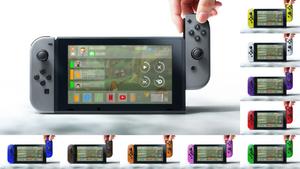 Nintendo Switch + nxOS [Concept - v2]
