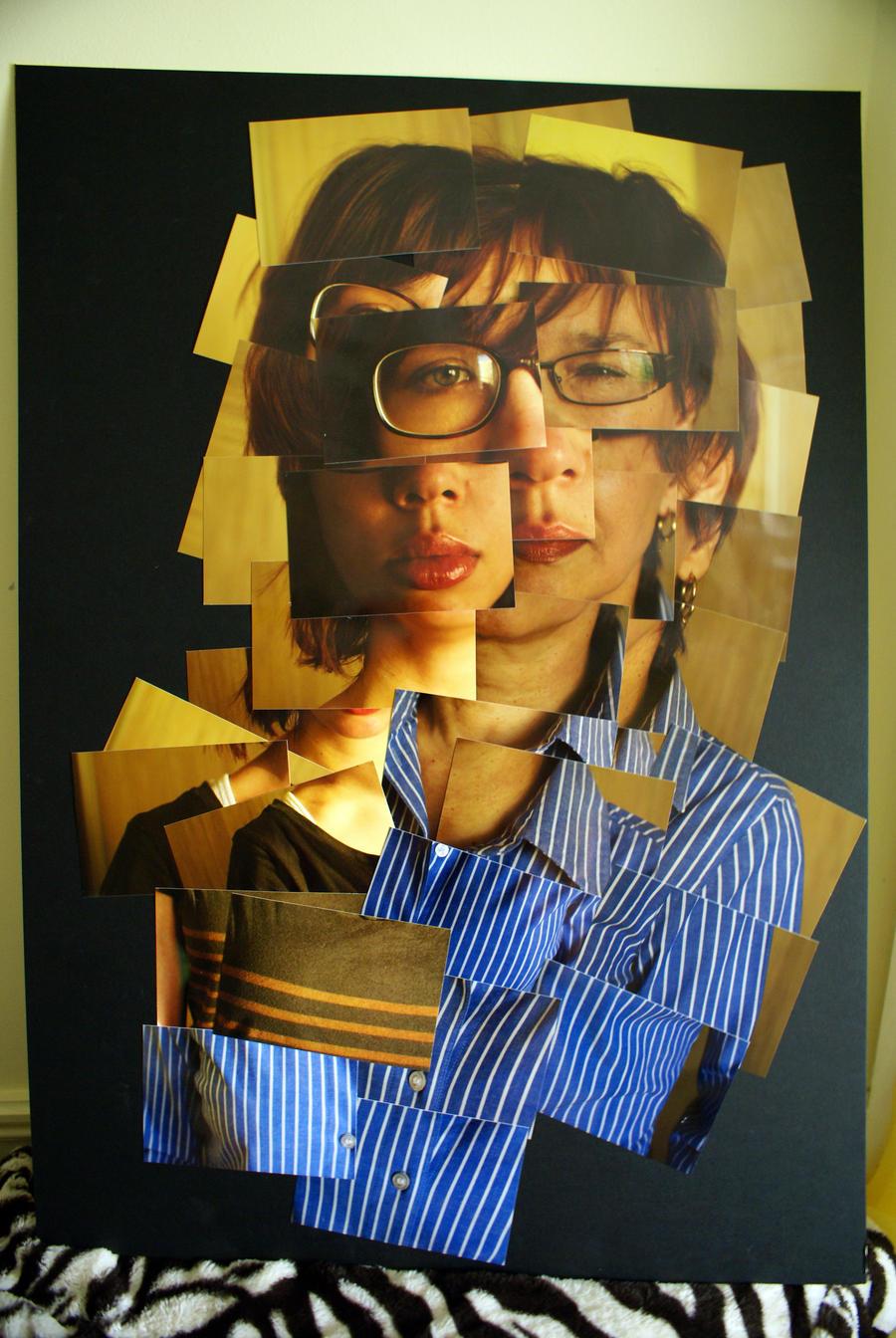 David Hockney Project Photograph by Kelly Green |David Hockney Joiner Project