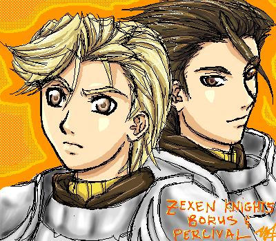 Sexy Zexen Knights XD by suikoden-club