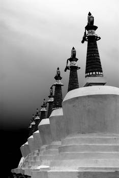Land of stupas