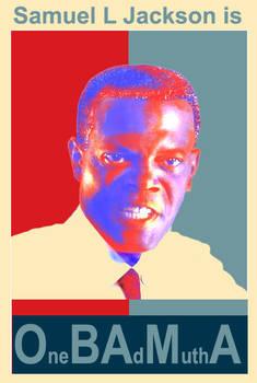 Samuel L Jackson is Obama