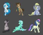 Pony set 1