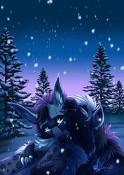 Hyena Love by hecatehell