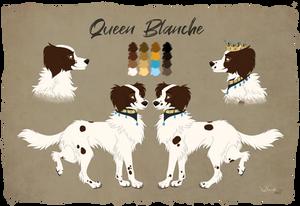 Character sheet Blanche