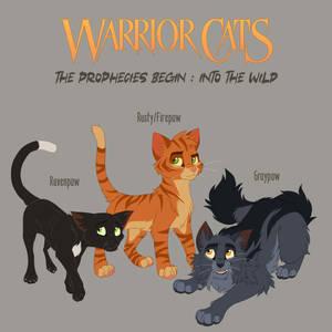 Warrior Cats 1-1 - trio