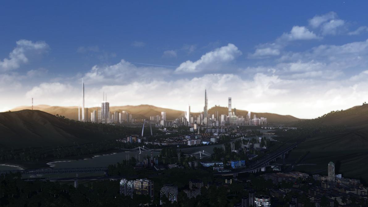 Skylines : les mods incontournables - Page 5 La_croisee___skyline_2_by_lnomsim-d8ezc4v