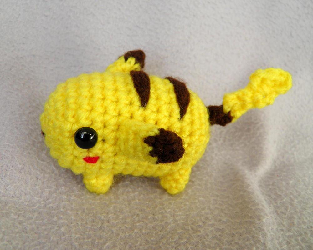 Pikachu amigurumi by theCuddlyCephalopod on DeviantArt