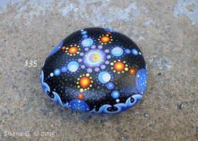 My Mandala Ying and Yang Rock