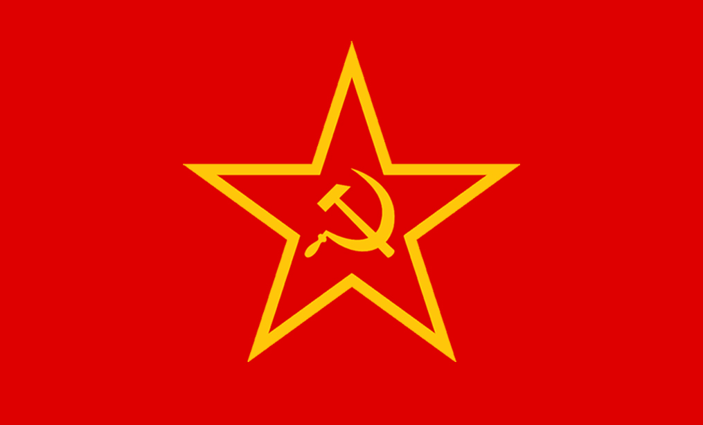 Image result for soviet red star flag