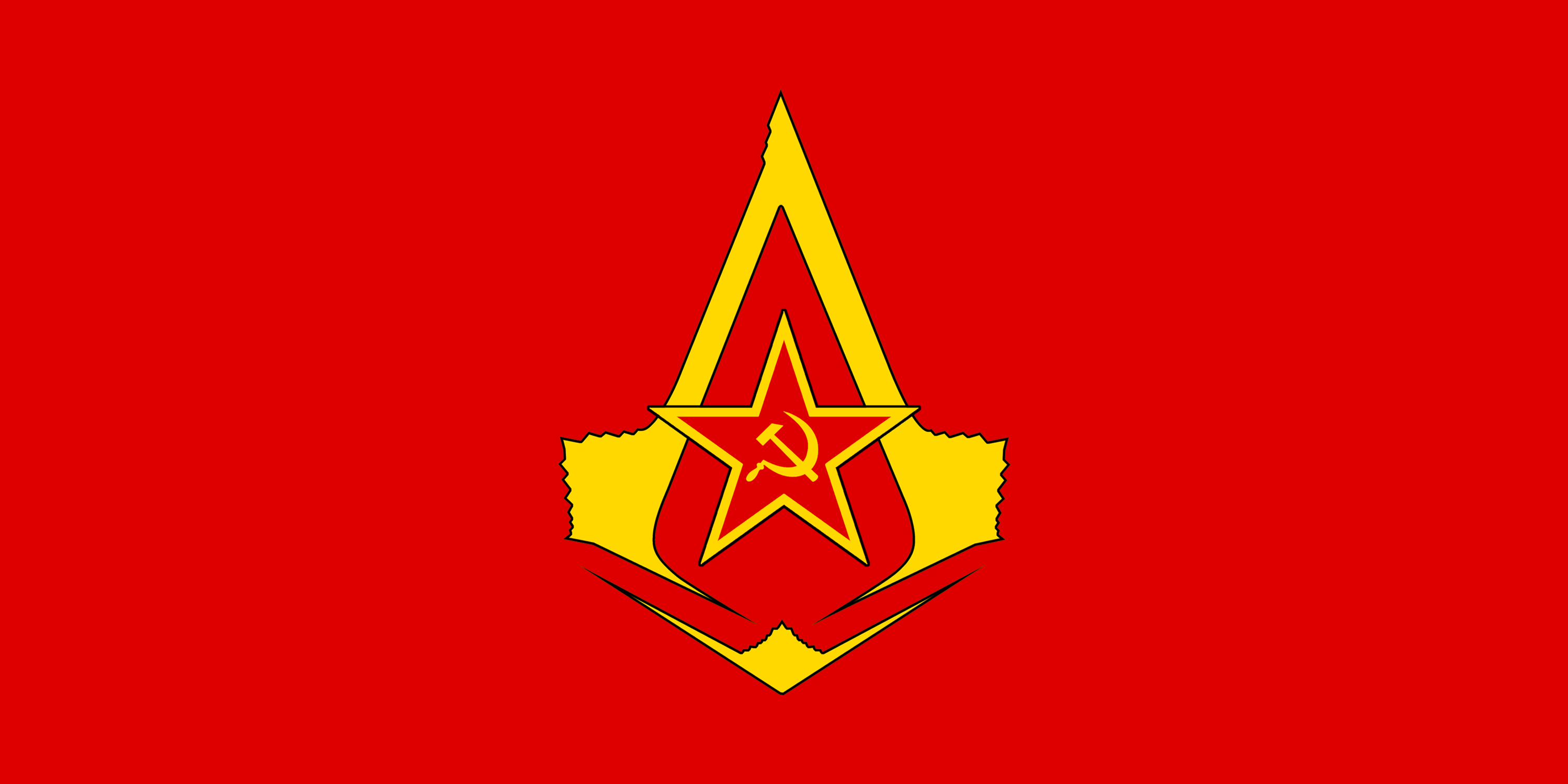 flag of the soviet assassins by redrich1917 on deviantart