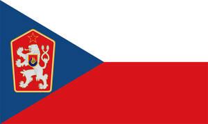 Flag Socialist Republic of Czechoslovakia (OLD) by RedRich1917