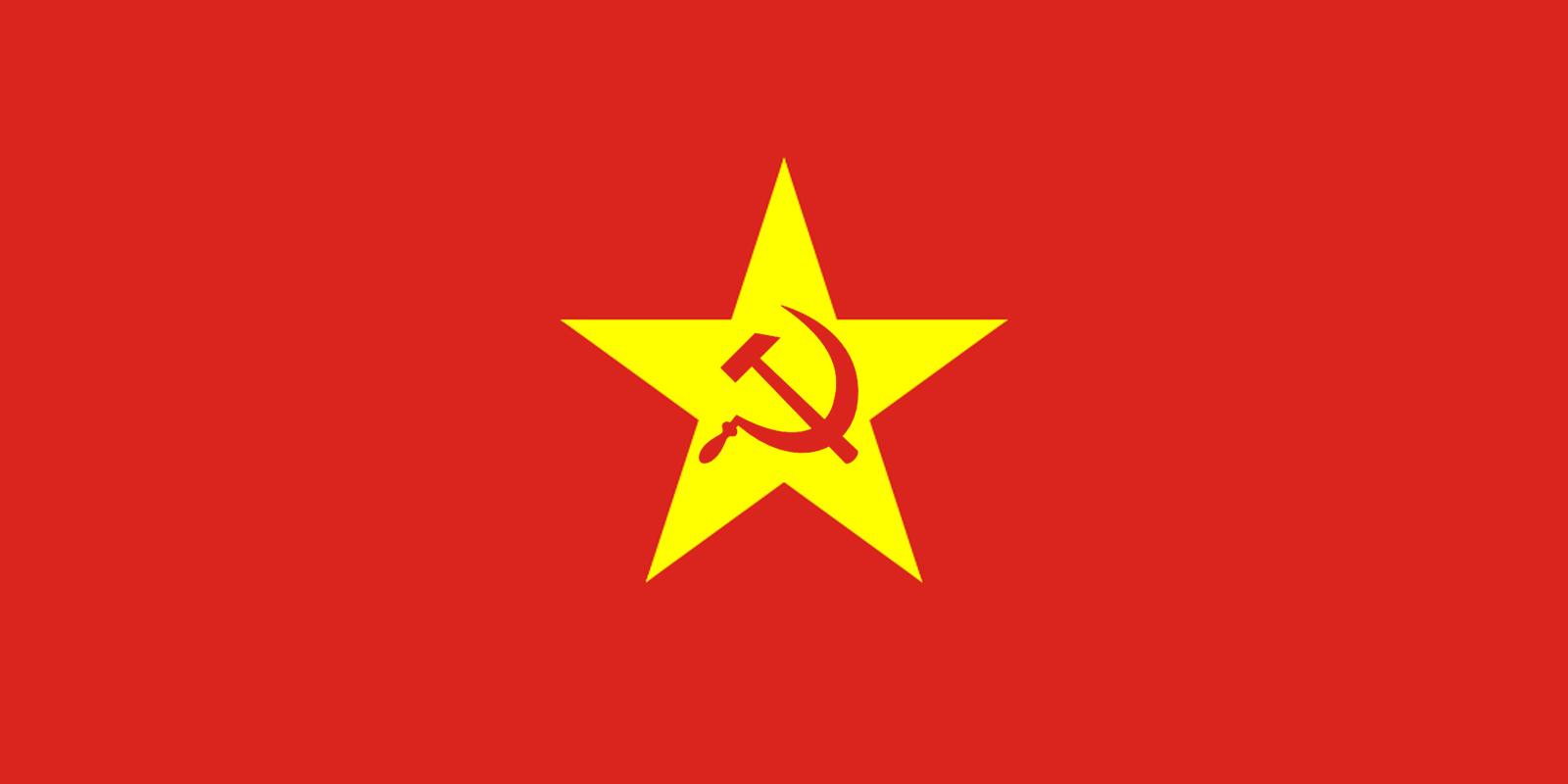 flag of the vietnamese sspr by redrich1917 on deviantart