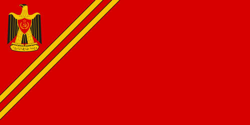 Flag of the Arabic USSR by RedRich1917