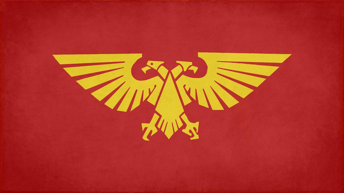 Image result for imperium of mankind flag