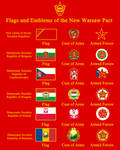 Flags and Emblems of the New Warsaw Pact