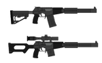 AS-24 and VSS-24 Integrally-Suppressed Rifles (CD)