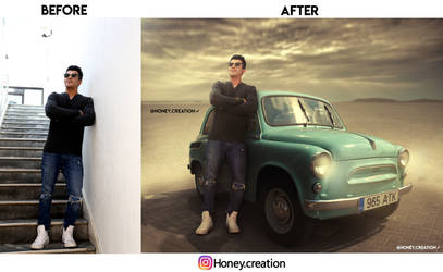 Manna Before After by honeycreation