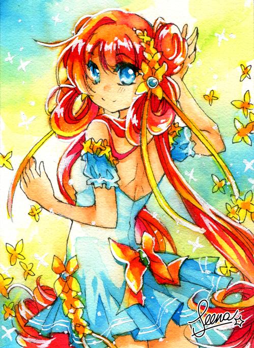 Colorful Girl by SeenaRomy