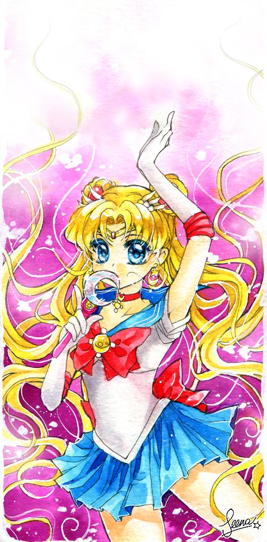 Sailor Moon Crystal by SeenaRomy