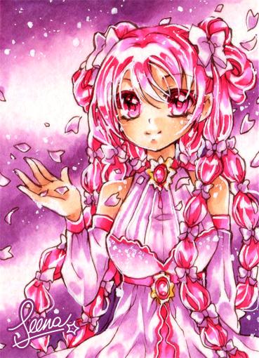 Pinky Girl by SeenaRomy