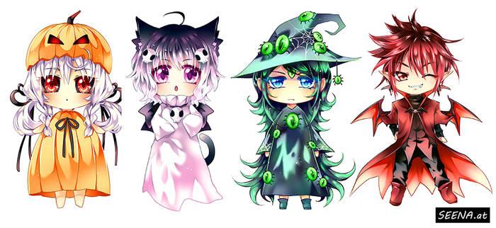 Halloween Chibis