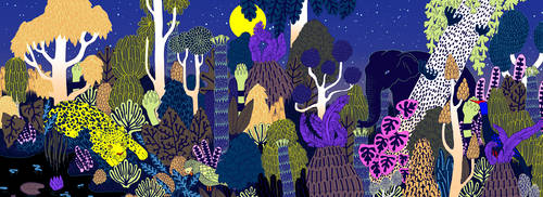 Jungle night by catlee