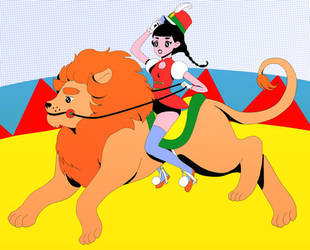Lion tamer by catlee