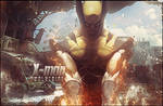 Wolverine On fire by isma92