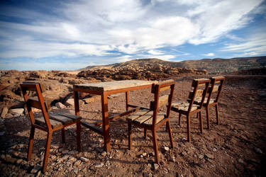Table with a view by lmojtahedi