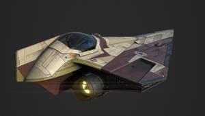Star Wars Jedi Starfighter Delta-7 Aethersprite