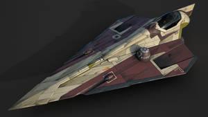 Star Wars Jedi Starfighter Delta-7 Aethersprite V2