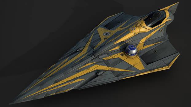 Star Wars Jedi Starfighter (Anakin Skywalker)