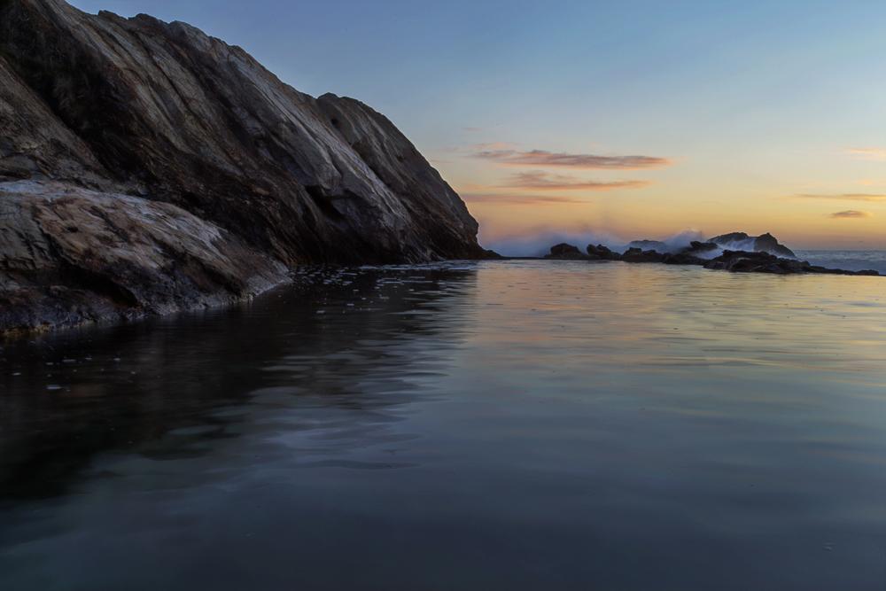 Blue Pool Sunrise by Dryad-8