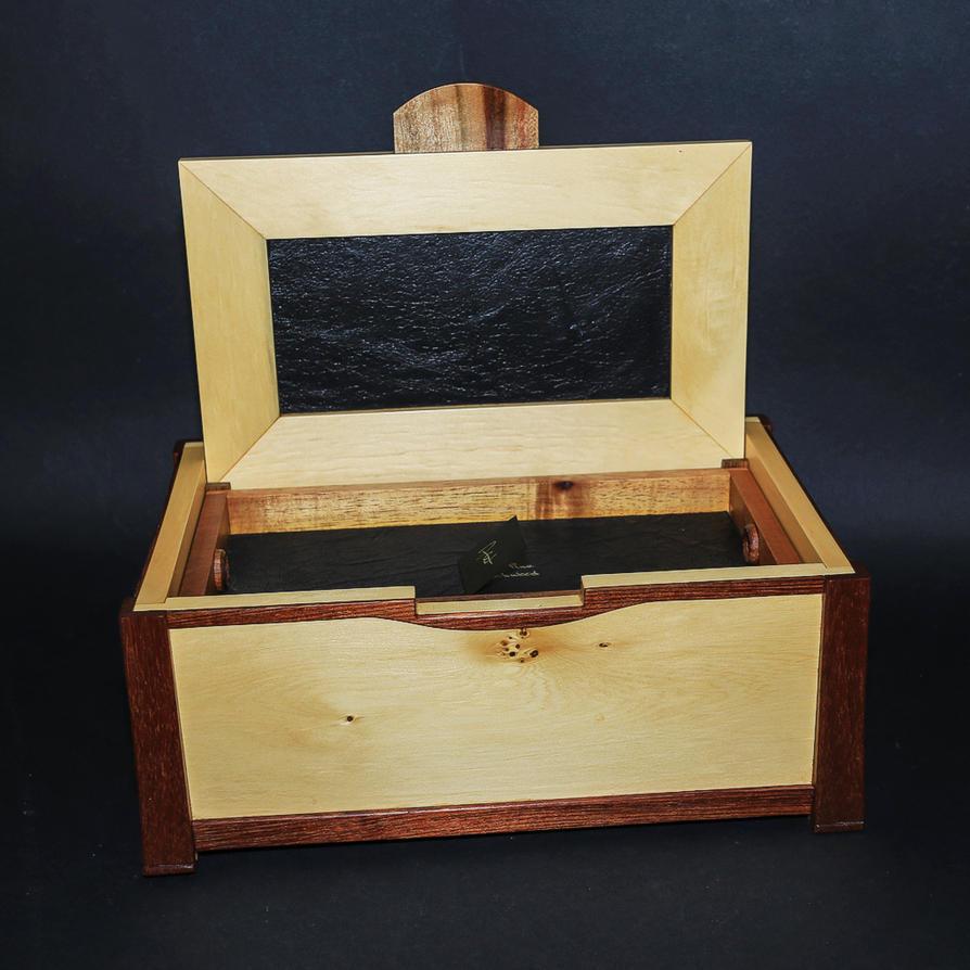 Huon Blackwood Secret inside by Dryad-8