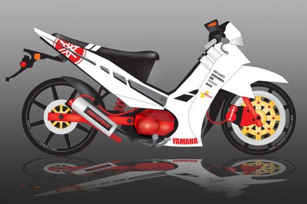 Yamaha New Vega 110 By Alexbram On Deviantart