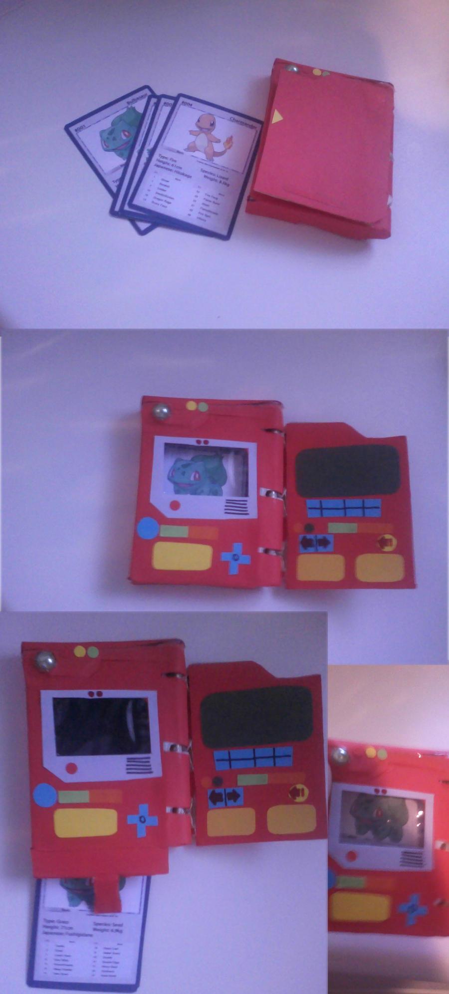 how to make a cardboard pokemon cardsculchers