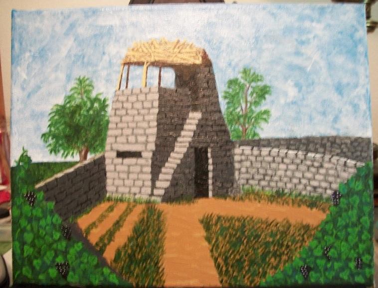 Vinyard Watchtower by Attalus