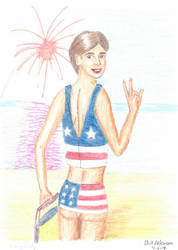 Fourth of July Susie