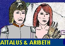 Aribeth and Attalus by Attalus