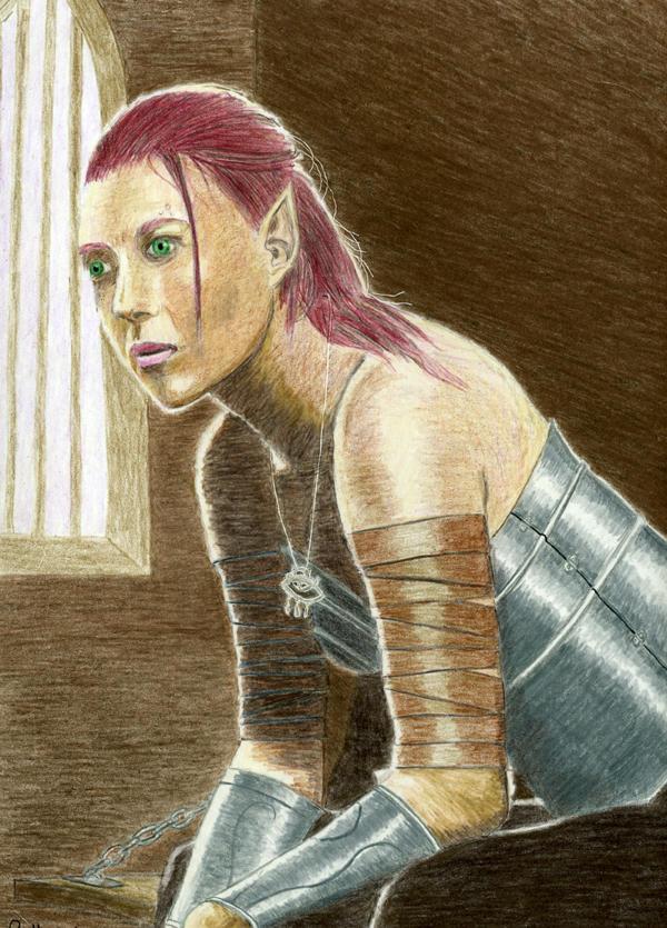 Aribeth Imprisoned by Attalus