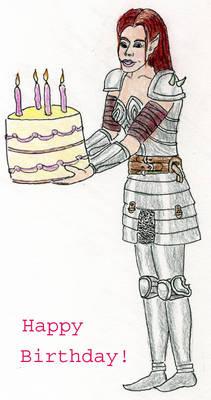 Happy Birthday from Aribeth