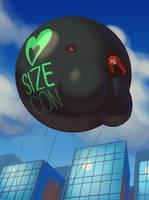 'SizeCon Blimp' by Opik Oort!