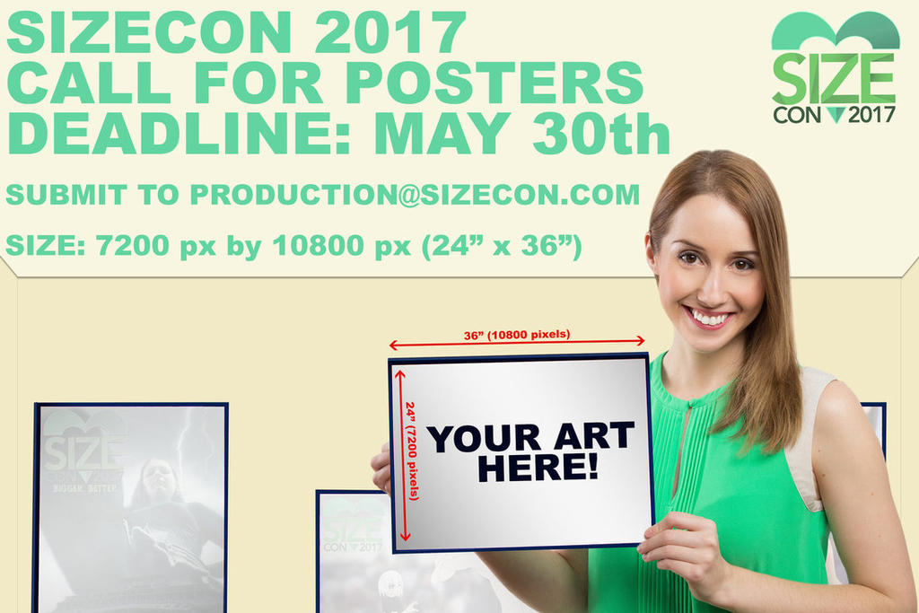 Sizecon Call For Posters By Sizecon-db56wqf by SizeCon