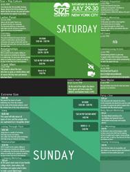 The SizeCon 2017 Schedule! by SizeCon