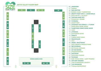 SizeCon17 Floormap + LAST UPDATE! by SizeCon